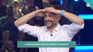 Roberto é sorprendido en directo polo 'Pintamonas Enmascarado' - Land Rober