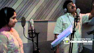 Indian Rupee Song - Watch MG Sreekumar & Sujatha in Song Recording of Movie Indian Rupee