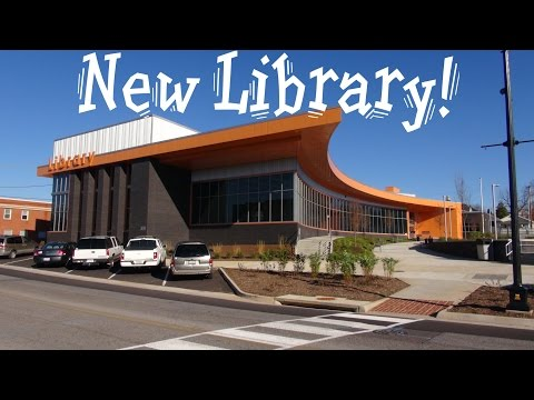 elevaTOUR of the new Vinton Public Library with Thyssenkrupp elevator Vinton VA (tour)