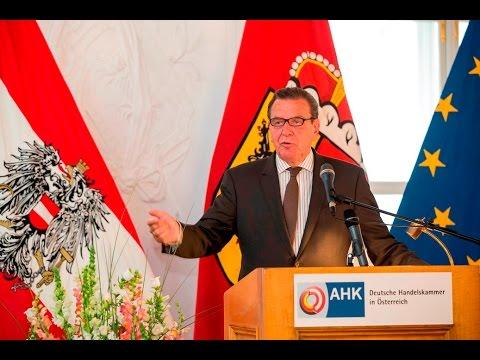 DHK-Frühsommerveranstaltung 2016 in Salzburg mit Gerhard Schröder