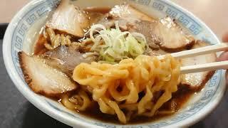 二本松市 道の駅安達の、みどり湯食堂の中華そば。