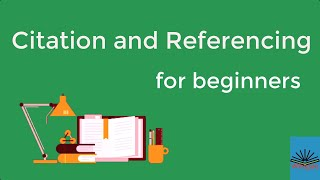 Citation and Referencing f๐r beginners
