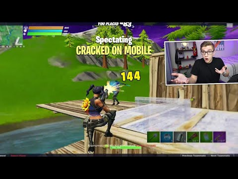 I Spectated 100 Of The Best PRO Fortnite MOBILE Players