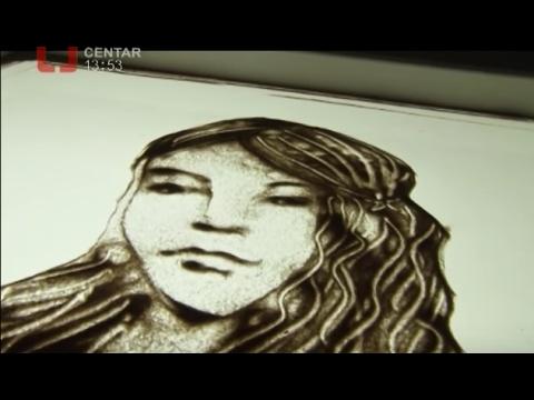 TV CENTAR: Slike od peska