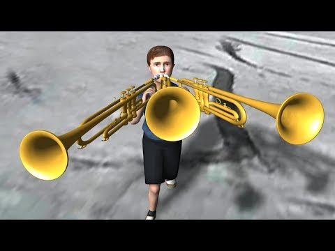 TRUMPET BOY ATTACK + K-ON | 3D meme
