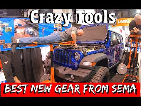 NEW Tools, Gear & Equipment From Sema 2019.