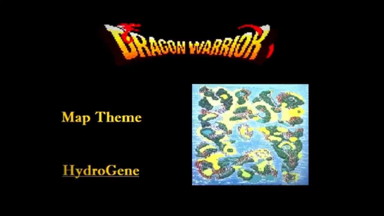 Hydrogene Dragon Quest 1 Map Theme Youtube