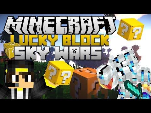 LUCKYBLOCK SKYWARS!! Minecraft