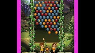 Джунгли Шарики Фрукты три в ряд шарики лопать игра Jungle Bubble Shooter
