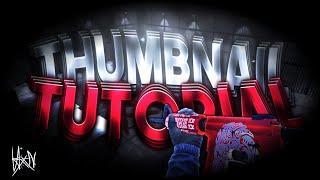 TUTORIAL DE THUMBNAIL (CRITICAL OPS) | •PS TOUCH•