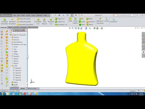 solidworks-tutorial-loft-bottle