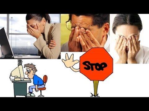 Усталость глаз - симптомы и причины; лечение синдрома