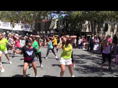 Palo Alto Flash Mob at Annual Art Festival