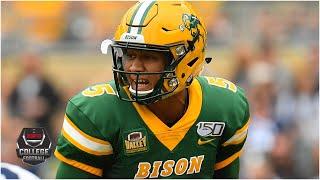 Reacting to sophomore Trey Lance entering the 2021 NFL Draft   KJZ