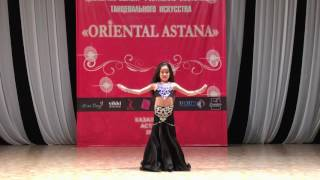 Saukimbekova Zhazira 3 place in Oriental Astana 2017