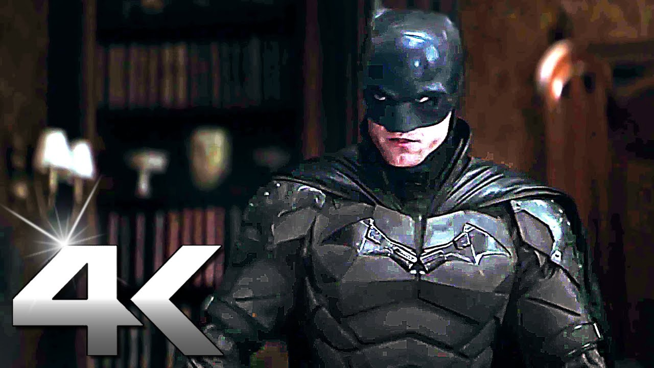 THE BATMAN Official Trailer 4K (2021) Ultra HD