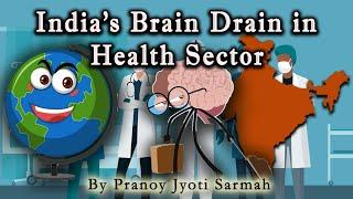 India's Brain Drain in Health Sector   India's Concern in Health Sector   What is Brain Drain?  