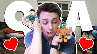 ROBLOX OR MINECRAFT?! | Q&A w/ MicroGuardian!
