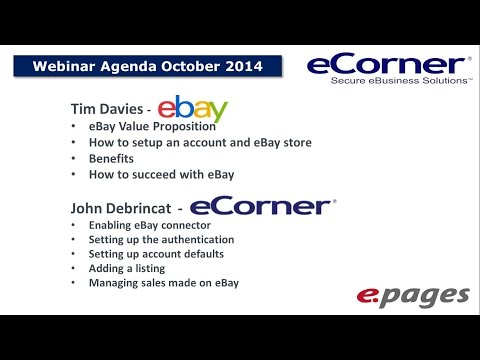 Take your ePages store to the next level with eBay