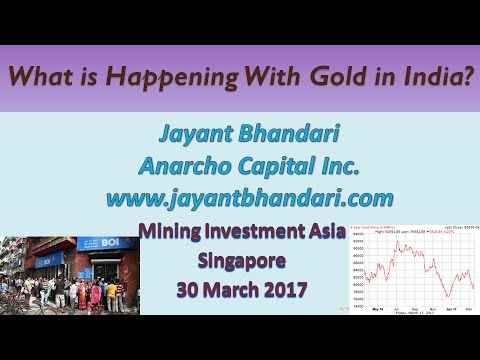 Mining Investment Asia, Singapore - What is Happening With Gold in India?