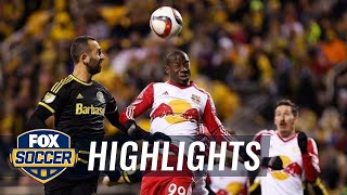 Columbus Crew vs. New York Red Bulls | 2015 MLS Highlights