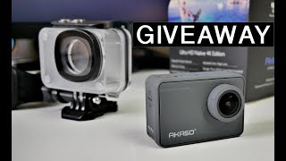 AKASO V50 PRO GIVEAWAY - Native 4K Action Camera X2