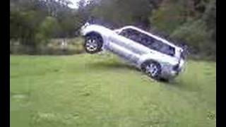 Car gets airborne thumbnail