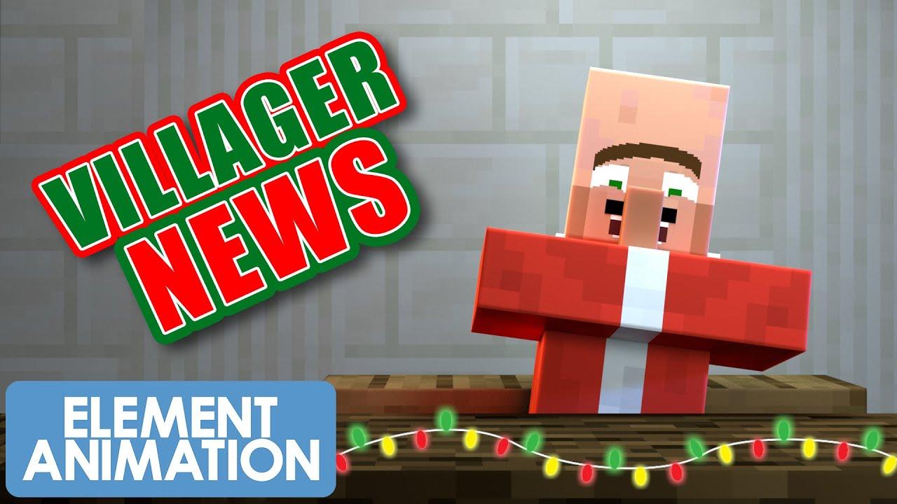 VILLAGER NEWS: CHRISTMAS 2020 (MINECRAFT ANIMATION)