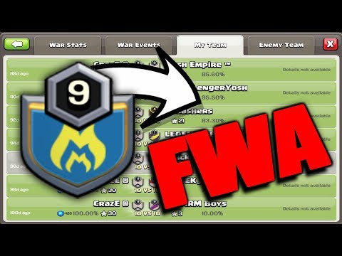 Mystery Of FWA (Farming War Alliance) Clans | Every Detail Explained About FWA 2018