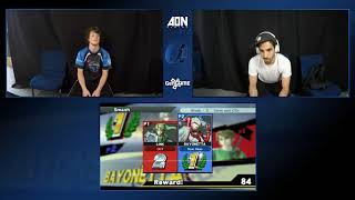 AON Alpha 2 Sinai Glare (Bayonetta) vs Glentendo (Link) Winners Pools
