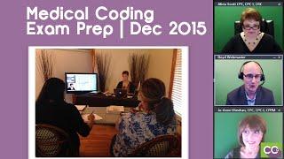 Medical Coding Certification Exam Preparation   December 2015