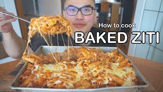 How to cook BAKED ZITI PASTA