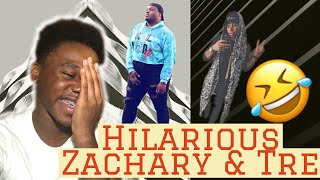 ZACHARY CAMPBELL & TRE MELVIN ** (Hilarious)