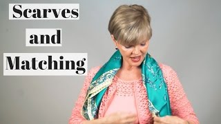 Scarves and Matching | Donna Arp Weitzman