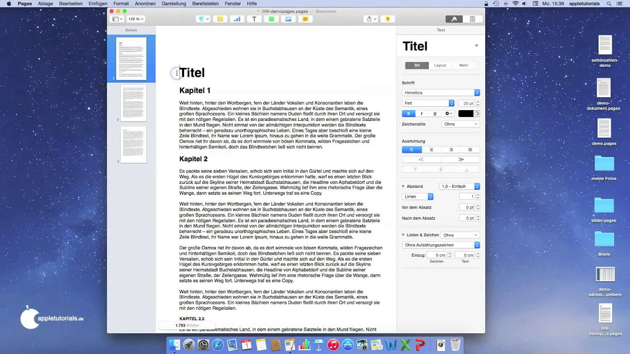 iwork pages page coloring - photo#3