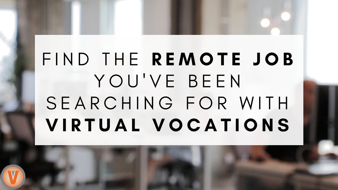 5 ways virtual vocations can help you the telecommute job of 5 ways virtual vocations can help you the telecommute job of your dreams virtual vocations