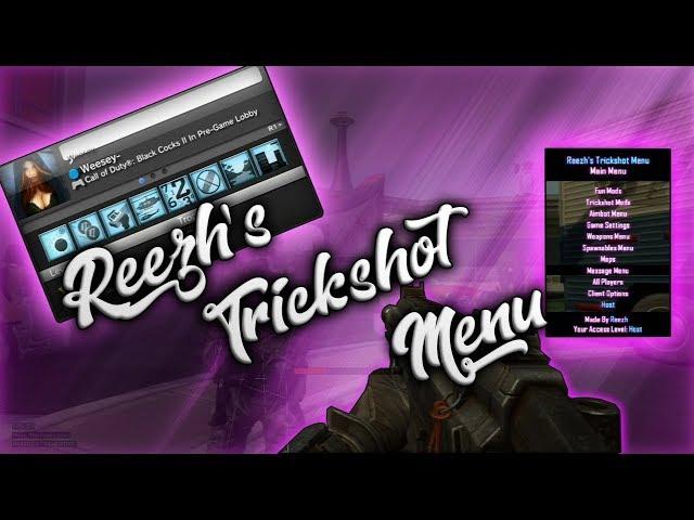 ?BRAND NEW BO2 TRICKSHOT MENU!!! BY Reezh+[IM IN IT!!] FREE DOWNLOAD?