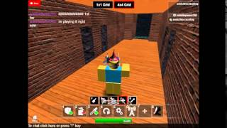 Roblox with sonicthecrazyhog w/ zombiepwner265: My Building Place