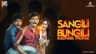 Sangili Bungili Kadhava Thorae Dialog Spot | Jiiva | Sri Divya | Ike | Atlee | Fox Star Studios