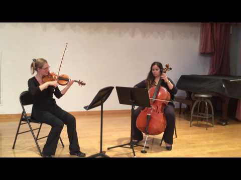 Serenade by Schubert Violin Cello