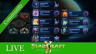 ♥ Jeder gegen Jeden ♥ - Starcraft 2: LotV Communitymatches LIVE #23 [Deutsch | German]