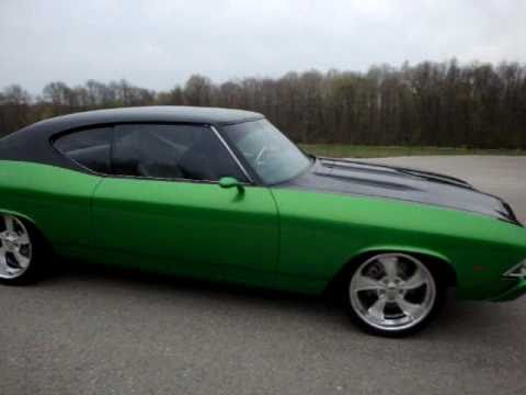 1969 Chevy Chevelle Blacktop Custom Sweet Youtube