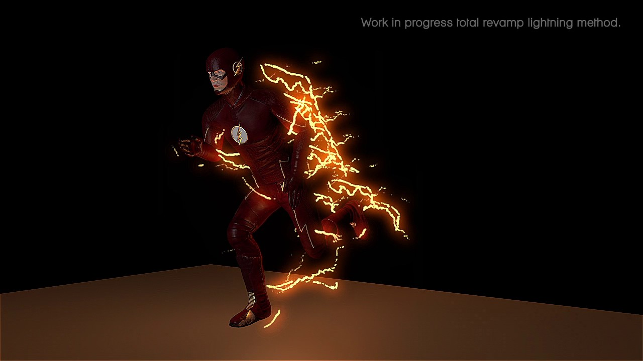 The Flash Effects created in C4D - Total Revamp progression V4