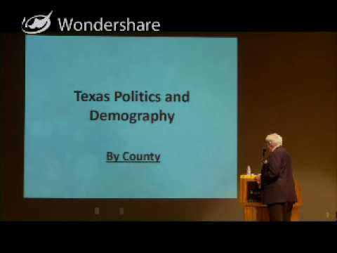Governor Bill Hobby Discusses U.S. Census History and the Texas Political Atlas