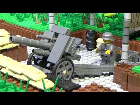 видео: ЛЕГО Военная Академия #35, Немецкая легкая полевая гаубица обр 18 года.