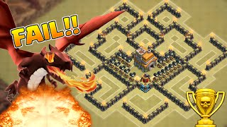 CLASH OF CLANS - BEST TOWNHALL 7 (TH7) CLAN WARS/TROPHY BASE w/ Air Sweeper!