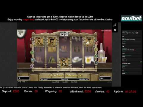 Video Novibet casino