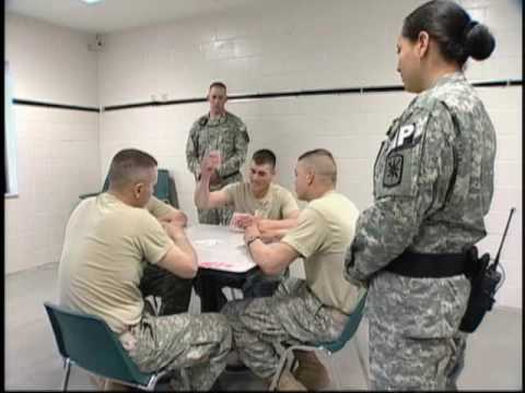 Army MOS 31E Internment/Resettlement Specialist - YouTube