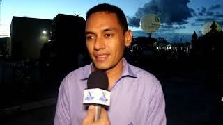 Zé Filho vice prefeito da Jaguaribara destaca a importância da Brinquedopraça e o esforço da gestão