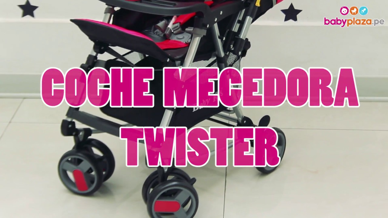 f686b9be6 Coche Mecedora Twister- Baby Kits   BabyPlaza - YouTube